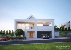 Dieses stylishe Einfamilienhaus dürfte die Herzen von alldenjenigen höherschlagen lassen, die auf moderne Designs und ganz viel Wohnkomfort stehen.