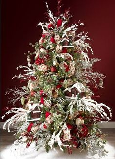 RAZ 2014 Woods Christmas Tree