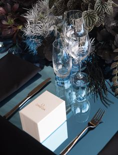 Sydney's iconic harbour inspired an oceanic wonderland for the launch of Omega's Deep Black timepiece. Omega Planet Ocean, Florists, Planets, Wonderland, Product Launch, Gift Wrapping, Dinner, Inspired
