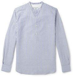 Officine GeneraleAuguste Striped Linen And Cotton-Blend Shirt
