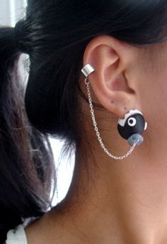 Nibbling on Your Earlobes | Geek Crafts  I need this. Purely based on my dogs name being Chomp.