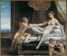 Jupiter and Dana - Correggio