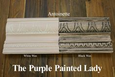 actual samples of every annie sloan chalk paint color with different dilutions and waxes. --The Purple Painted Lady Duck Egg Chalk Paint Annie Sloan Black White Wax (annie sloan furniture colors) Annie Sloan Farbe, Annie Sloan Wax, Annie Sloan French Linen, Annie Sloan Paints, Old White Annie Sloan, Annie Sloan Chalk Paint Colors, Gray Chalk Paint, Chalk Painting, Chalky Paint