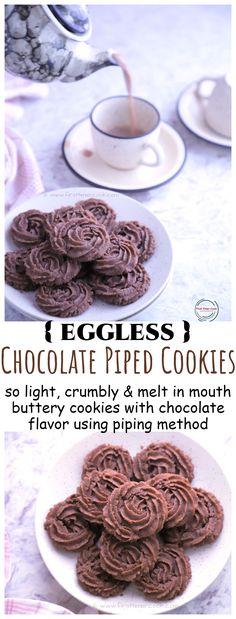 Vegetarian Platter, Vegetarian Recipes, Healthy Recipes, Chocolate Flavors, Chocolate Recipes, Good Food, Yummy Food, Buttery Cookies, Gluten Free Cookies