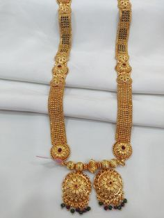 One Gram Jewellery Online Shopping India, 1 Gram Jewelry Pune 1 Gram Gold Jewellery, Gold Jewellery Design, Bridal Jewellery, Gold Jewelry, Beaded Jewelry, Katan Saree, Engagement Hairstyles, Gold Mangalsutra Designs, Gold Necklace Simple