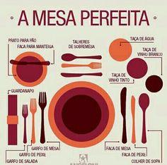 Uma mesa arrumada nao é tudo de bom de lindo?  #dicasSantoHelp