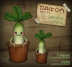 [Rebel Xtravaganza] Daikon - Potted