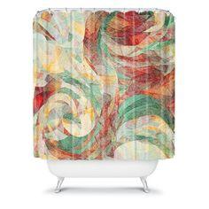 DENY Designs Jacqueline Maldonado Woven Polyester Rapt Shower Curtain