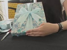 How To Wrap A Box Shaped Gift - YouTube
