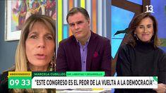 #chismesfarándulachilena #Featured #bienvenidos #canal13 Marcela Cubillos acusó de mentirosa a senadora Rincón en matinal de Canal 13…