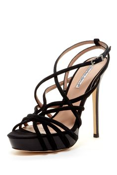 Heels by Charles David - I have a pair of heels almost exactly like these only mine have more of a 'kitten' heel.  Every time I wear them I always receive complements on them.  They are dressy enough to wear to formal events.