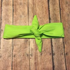 Green Baby Girl Knot Headband - Baby Headwrap - Baby Tie Knot Head Wrap - Turban Headband - Fabric Baby Headband by BBgiftsandmore on Etsy