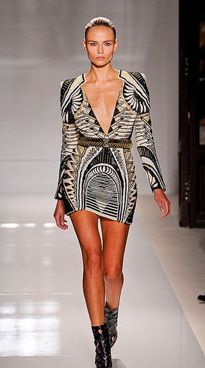 Balmain - This design so easily could have been based around fabulous architecture!