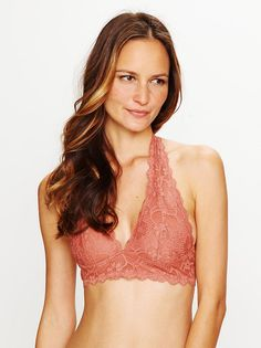 62af636432d Galloon Lace Halter Bra from Free People! Bra Straps