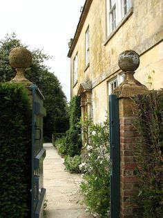 Entrance, Hidcote Manor, Gloucestershire, England