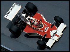 Emerson Fittipaldi, McLaren M23, 1975