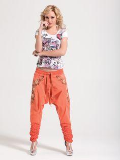 Harem pants. Street wear. Get some colour for summer: http://www.cladu.fi/shop/tuote/summer-signet-haaremihousut/