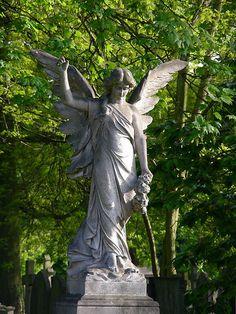 hanwell cemetery angel