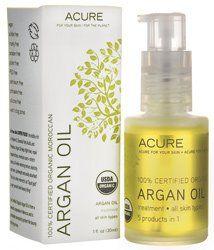 ACURE 100% USDA Organic Moroccan Argan Oil