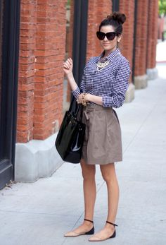 7 Spring 2015 Fashion Trends You Should Follow - Gingham