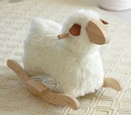 sheep rocker from Pottery Barn Kids -I love this!