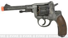 Gun Heaven  Nagant M1895 Airsoft CO2 Revolver - Weathered