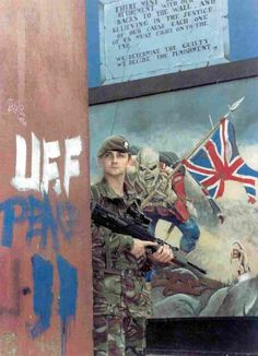British Soldier in Northern Ireland