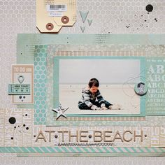 ★Scraptherapie★: {DT BasicGrey→At the Beach (Fact and Fiction collections}