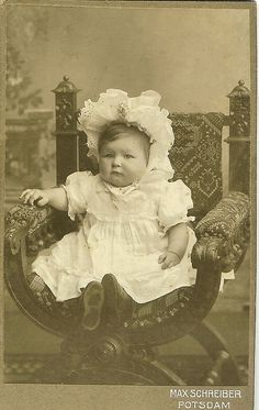 Bonnet Baby by 'Playingwithbrushes', via Flickr.    she shares quite a few images of different types on her flickr page.