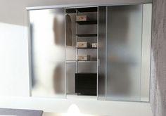 Porte pour placard / pour dressing / coulissante / en verre ALIEN Aico