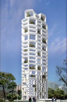 Oceanfront in Mumbai by Sanjay Puri Architects