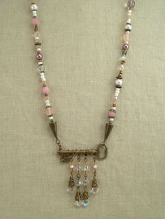 Gypsy Key Charms Necklace by GypsyWhims on Etsy, $35.00