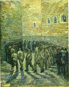 artimportant: Vincent Van Gogh, Prisoners Exercising (Prisoners Round), 1890