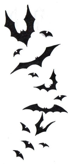 Bat tattoo idea
