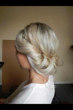 Boho bridal upstyle www.chantellebeechingfreelancestylist.com Facebook: Chantelle Beeching Hair and Makeup Sydney