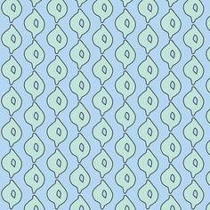 doodle dot (aqua/sky) fabric by prybolt on Spoonflower - custom fabric