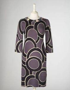 patterned 3/4 sleeve Boden dress