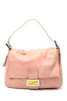 Vintage Fendi Nappa Leather Handbag