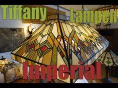 5287 Hanglamp Tiffany B92cm Biljart model Imperial | Super Grote Hanglampen | Haddon Hall Tiffany