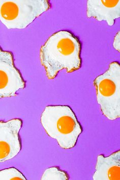 Food art fried eggs