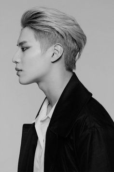 Taemin. Oh my god, that side profile though... Wow.