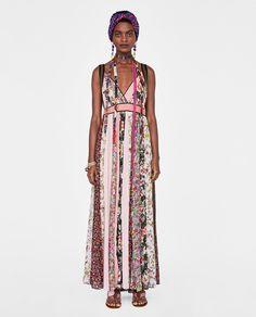 ZARA - WOMAN - STUDIO SHIMMERY PATCHWORK DRESS