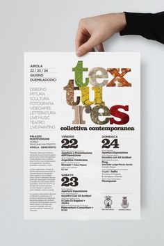 Textures Collettiva Contemporanea by Giuseppe Fierro, via Behance