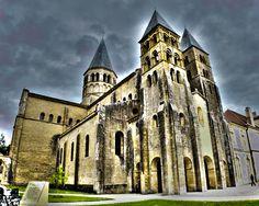 Basilique du Sacré Coeur, Paray-le-Monial, Bourgogne / Burgundy, France
