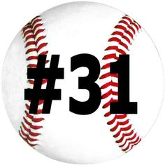 Personalized Baseball Magnet-baseball, baseball team, team mom, personalized,