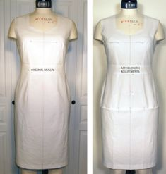fitting for length adjustments and determining bust, waist, and hip position – In-House Patterns Bodice Pattern, Bra Pattern, Serger Sewing, Make Your Own Clothes, Dress Tutorials, Dress Patterns, Sewing Patterns, Sewing Leather, Altering Clothes