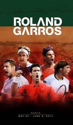 Roland Garros 2014 on Behance