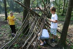 hutten bouwen in het bos - Google zoeken