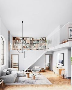 'Minimal Interior Design Inspiration' is a weekly showcase of some of the most perfectly minimal interior design examples that we've found around the web - all Loft Design, Apartment Interior Design, Deco Design, Modern House Design, Modern Interior Design, Interior Design Inspiration, Interior Architecture, Design Ideas, Interior Ideas