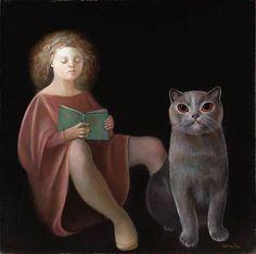L'élève, Leonor Fini. (1908 - 1996)